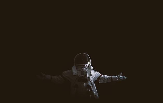 Astronaut lost in space Premium Photo