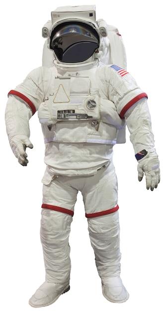 Astronauts isolated on white Premium Photo