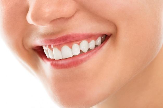 笑顔で歯医者で 無料写真