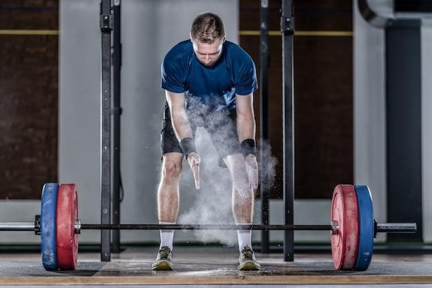 Спортсмен по тяжелой атлетике Бесплатные Фотографии
