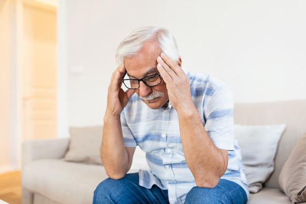 Attack of the monster migraine Premium Photo