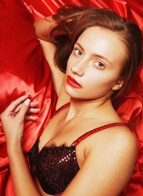 Attractive  sexy girl Premium Photo
