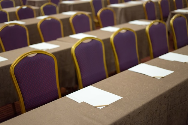 Audience in the conference hall business and entrepreneurship Premium Photo