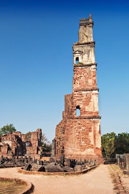 Augustine ruins Premium Photo