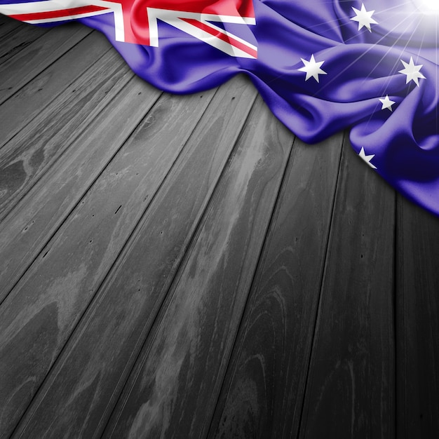Australia flag background Free Photo