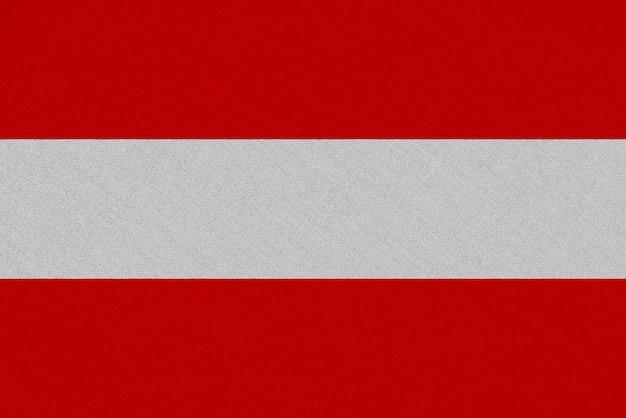 Austria fabric flag Premium Photo