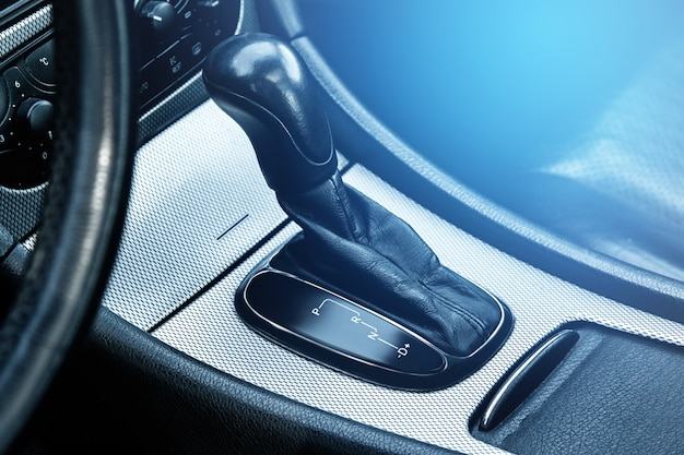 Automatic transmission shifter Premium Photo