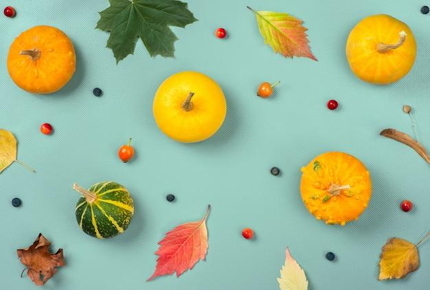 秋のシームレスパターン Premium写真