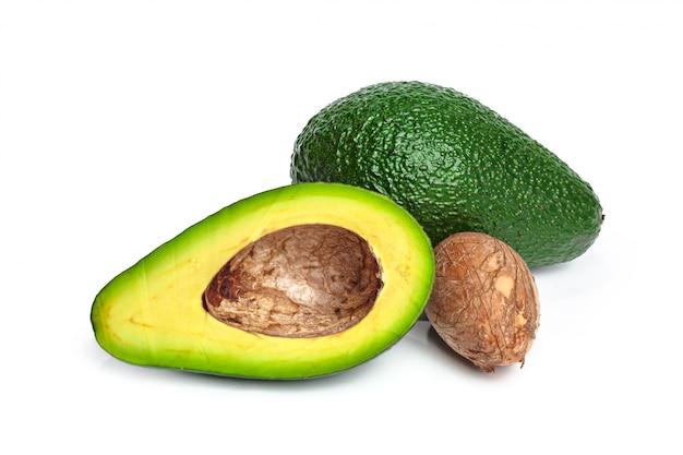 Avocado isolated Premium Photo