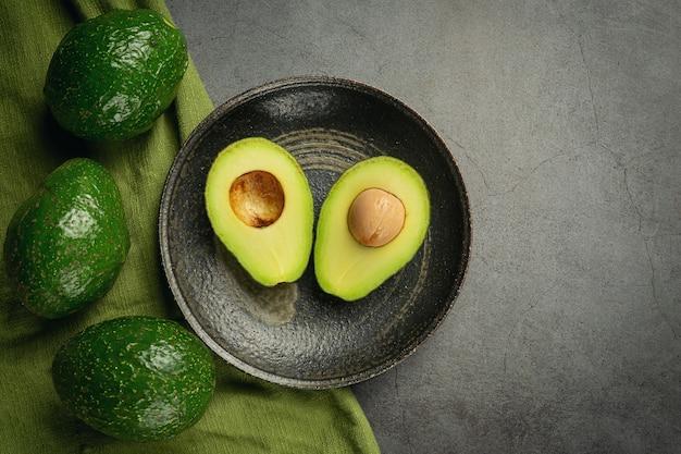 Авокадо продукты из авокадо концепция питания продуктов питания. Бесплатные Фотографии