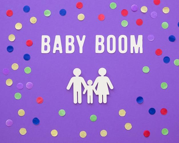 Концепция рождаемости бэби-бума Бесплатные Фотографии