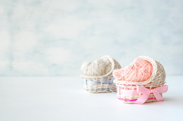 Baby shower ideas for a girl and boy party Premium Photo