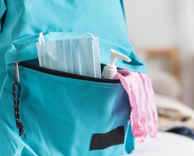 Torna all'assortimento di materiale scolastico in tempi nuovi Foto Gratuite