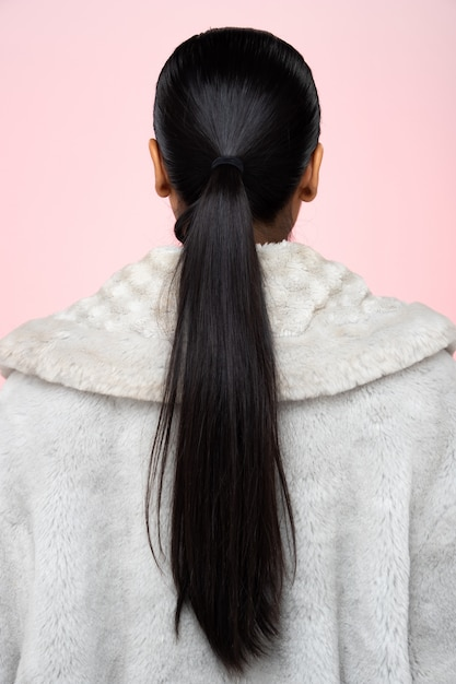 Premium Photo Back Side View Of Women To Show Hair Style