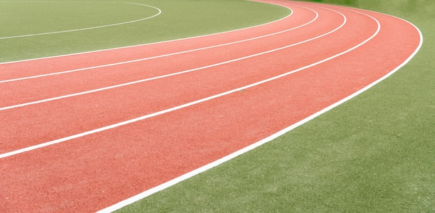 Background of atheletics running track. Photo | Free Download