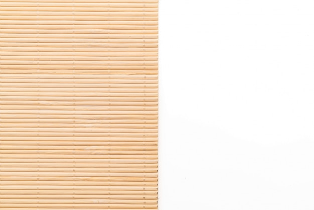 Background of the bamboo surface of mat Free Photo
