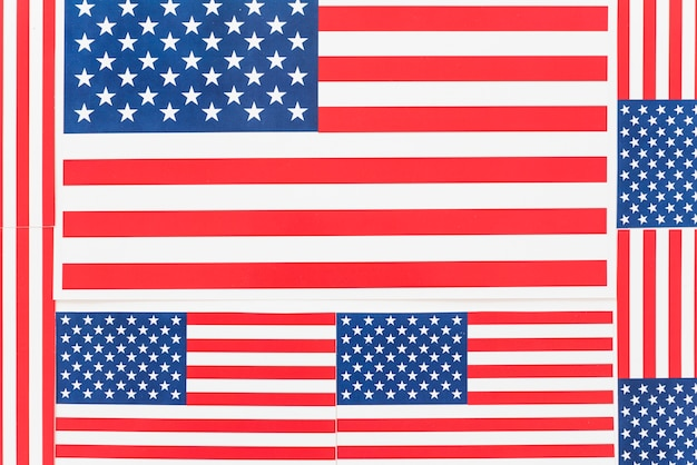 Background flags of america Free Photo
