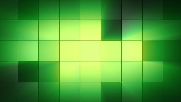 背景のライトの四角が点滅します。クラブの雰囲気 Premium写真