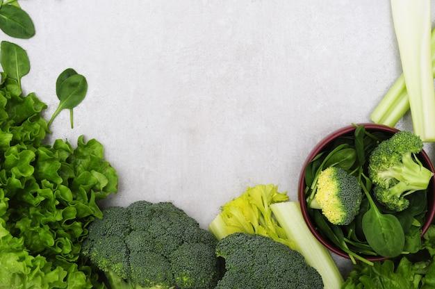 Dark Leafy Greens for healthy skin