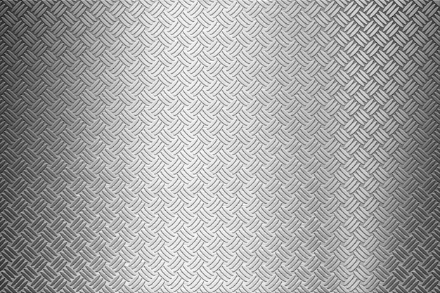 Background of metal diamond plate Premium Photo