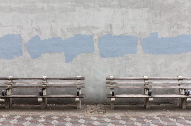 Предпосылка старой серой покрашенной стены. возрасте уличные стены фон, текстуры. Premium Фотографии