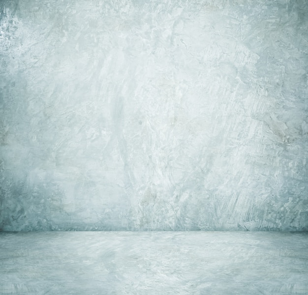Background, product display, empty white cement room, interior design, mock up background Premium Photo