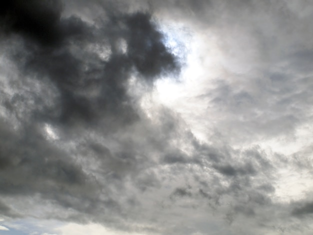 Background of storm clouds before a thunder-storm Premium Photo