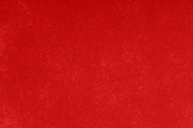 Background and texture of red felt. Premium Photo