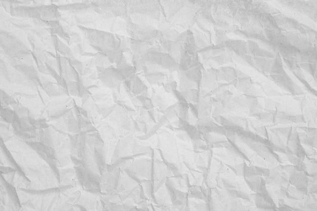 Серый мятой бумаги пустой background.texture из серой мятой бумаги Premium Фотографии