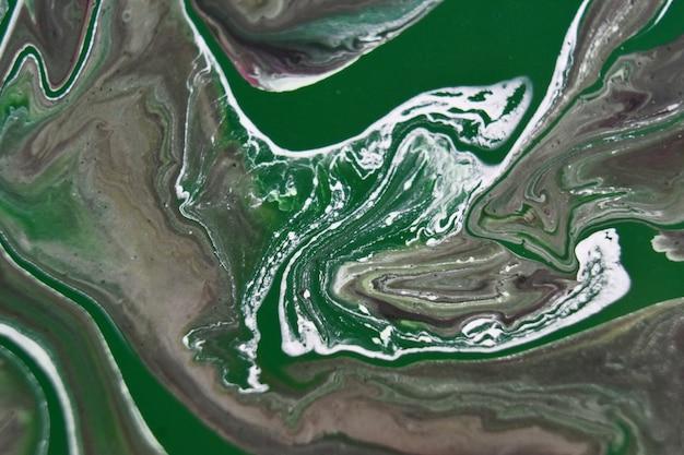 Sfondo con pitture miste colorate, pittura astratta di colata Foto Gratuite