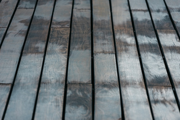 Background of woods arranged on aged tables of muted tones. Premium Photo