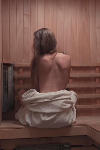 Sexy sauna video