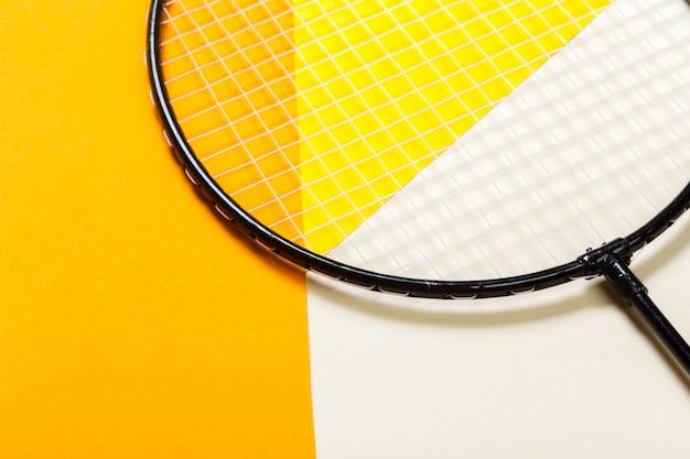 Badminton shuttlecock Premium Photo