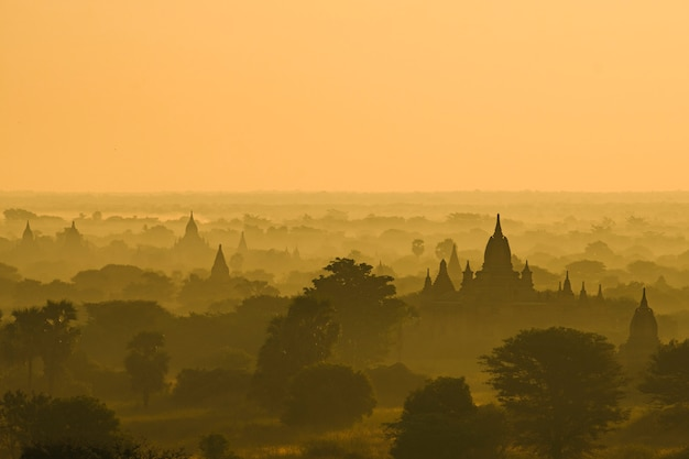 Bagan scene, myanmar Free Photo
