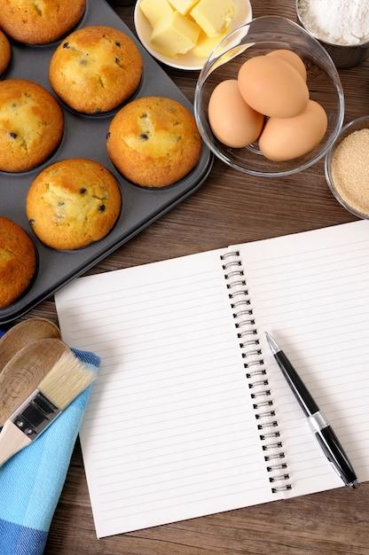 Bakery cookbook Free Photo