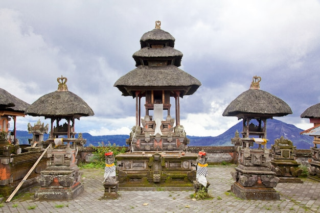 Baliness style temple Premium Photo