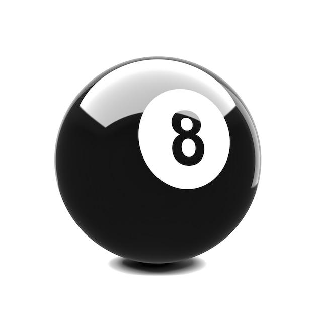 Ball 8 Premium Photo