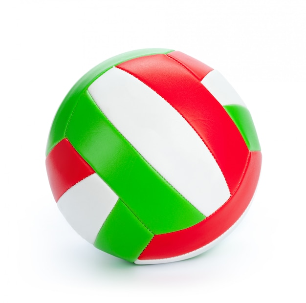 The ball for volleyball on white Premium Photo