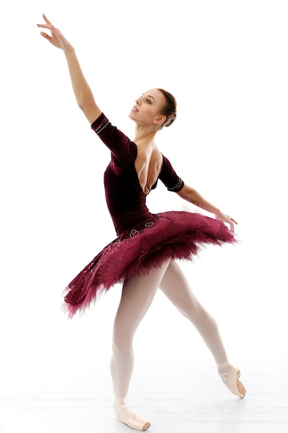 Ballerina performing Free Photo