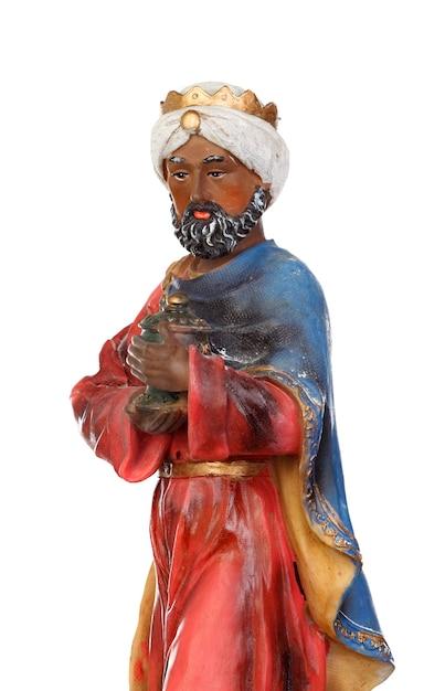 Baltasar, one of the three wise men Premium Photo