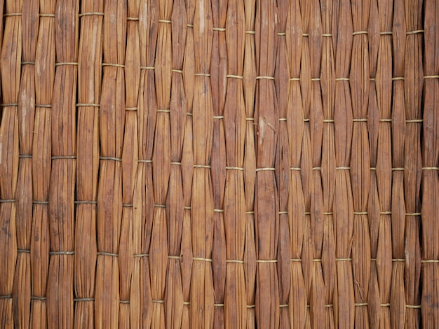 Bamboo wall background Premium Photo