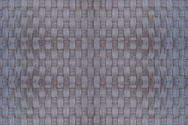 Bamboo wicker texture and background is used as a material for storing dry food. Premium Photo