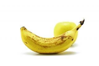 banana and apple Free Photo