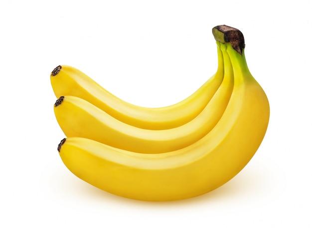 Premium Photo | Banana isolated on white background with ...