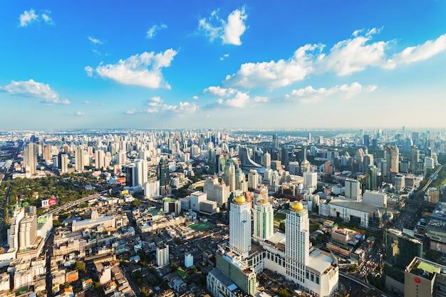 Bangkok aerial view Premium Photo