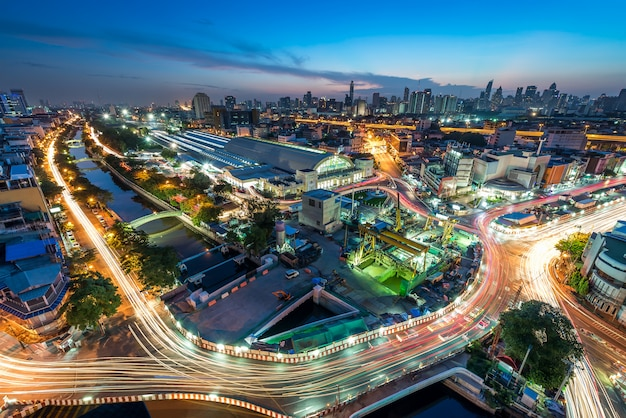 Bangkok cityscape Premium Photo