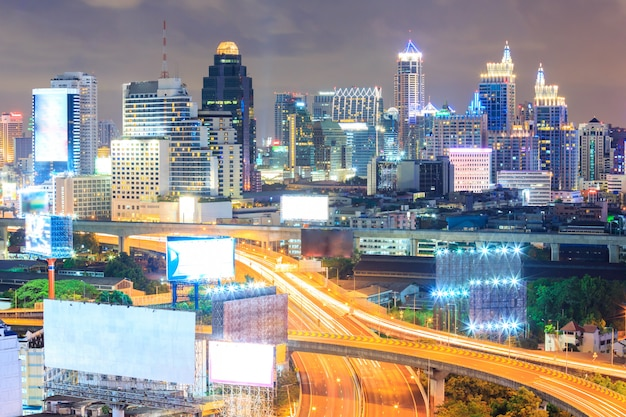 Bangkok downtown Premium Photo