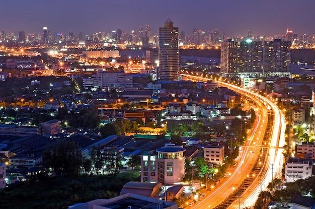 Bangkok highway Premium Photo