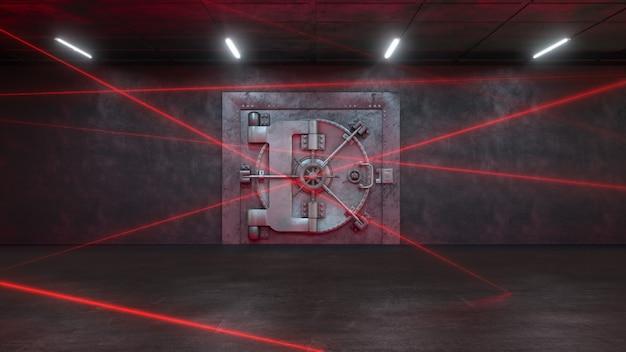 Банк охраняется лазерной системой Premium Фотографии