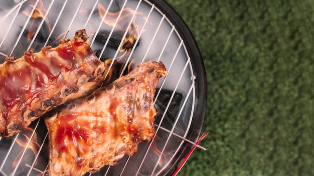 Barbecue background Free Photo